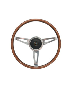1967 - 1973 Mustang Shelby Style Steering Wheel w/ Hub and Ford Mustang Emblem