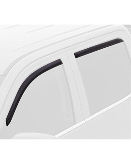 Auto Ventshade 194318 In-Channel Ventvisor Window Deflector, 4 Piece