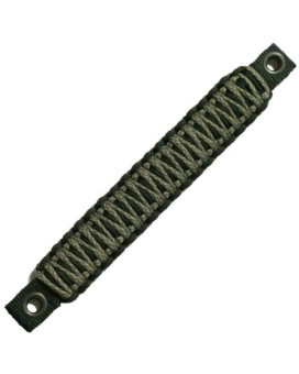 Bartact TAOGHRPBA - Jeep Wrangler JK Rear Side Paracord Grab Handles (PAIR) - Made in USA - BLACK/ACU CAMO