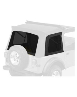 Bestop 58698-15 Black Denim Tinted Window Kit for Bestop Sunrider, 76-95 CJ7 and Wrangler YJ
