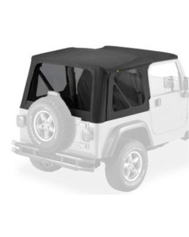 Bestop 58128-35 Black Diamond Tinted Window Kit for Bestop Replace-a-Top, 03-06 Wrangler (except Unlimited)