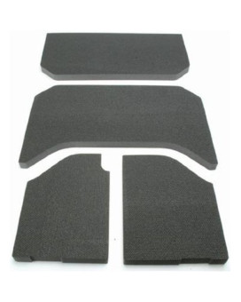 Design Engineering 050131 Black Sound-Deadening Headliner for Jeep Wrangler 4-Door