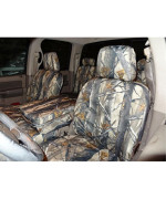 2006-2009 Dodge Ram 2500 or 3500 Exact fit Seat Covers in XD3 Camo Endura