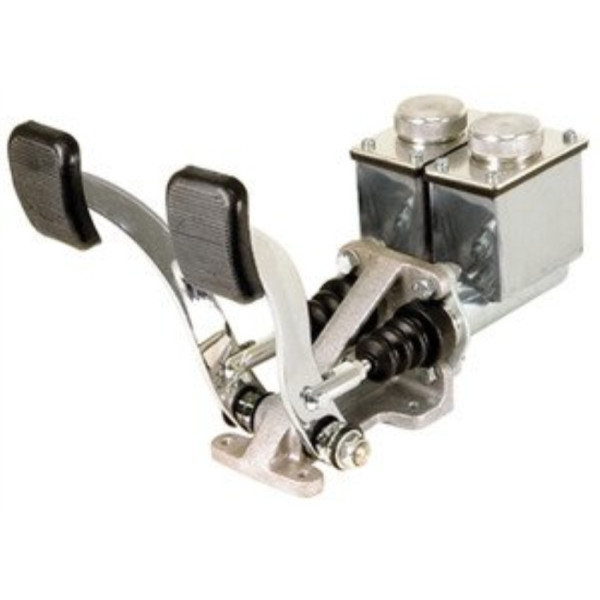EMPI 16-2530-0 RACE TRIM Dual Pedal Assembly, 3/4