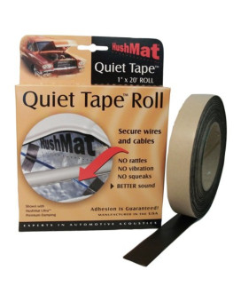 "HushMat HSM30300 1"" x 20' Quiet Tape Shop Roll"