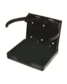 JR Products 45619 Black Adjustable Cup Holder