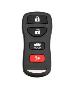 Keyless Entry Blank Replacement Key Remote FOB Shell Case for Nissan 4 Button