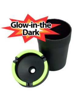 Glow in the Dark Automobile Car Cup Holder Ashtray