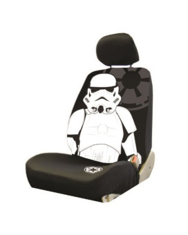 Plasticolor 006933R01 'Star Wars Stormtrooper' Low Back Bucket Seat Cover
