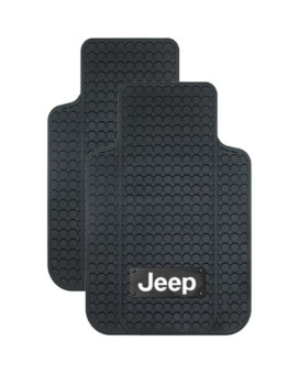 PlastiColor Jeep Logo Car Floor Mats