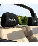 NFL Seattle Seahawks 2-Pack Headrest Covers