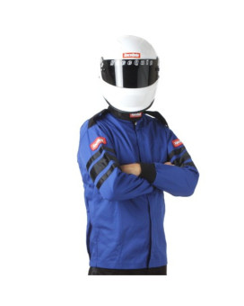 RaceQuip 111026 111 Series X-Large Blue SFI 3.2A/1 Single Layer Driving Jacket