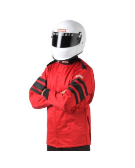 RaceQuip 121016 121 Series X-Large Red SFI 3.2A/1 Multi-Layer Driving Jacket