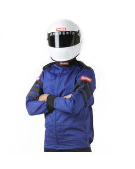RaceQuip 121025 121 Series Large Blue SFI 3.2A/1 Multi-Layer Driving Jacket