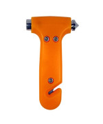 SE EH432 Mini Emergency Hammer with Window Punch & Seat Belt Cutter
