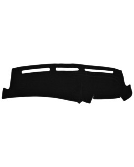 Toyota Camry Dash Cover Mat Pad - Fits 2007 - 2011 (Custom Carpet, Black)