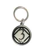 3 Year NA Narcotics Anonymous Sobriety Anniversary Medallion Keychain for Clean Birthday NA Officically Licensed