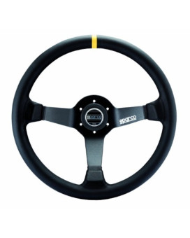 Sparco 015R345MLN Leather Steering Wheel