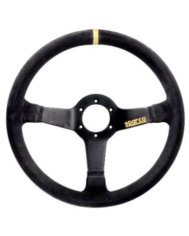 Sparco 015R345MSN Suede Steering Wheel