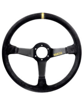 Sparco 015R368MSN Suede Steering Wheel