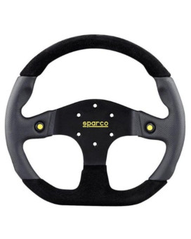 Sparco 015TMG22TUV Mugello Black Steering Wheel