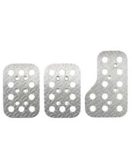 Sparco 03779AN Race Silver Pedal Set