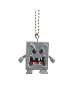 Super Mario Galaxy 2 Mini-Monster Gashapon Keychain - Whomp