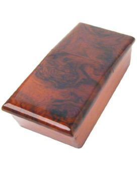 URO Parts CB-107B Burl Wood Console Box