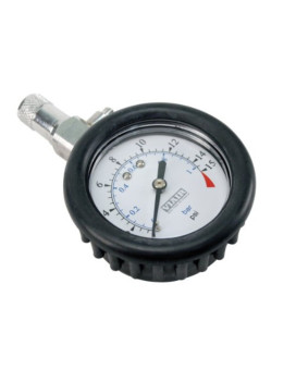 """Viair 90058 2.0"""" (0 to 15 PSI) Tire Gauge with Boot"""