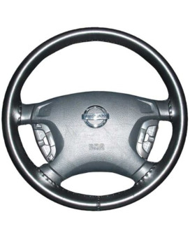 Wheelskins Ford Genuine Leather Black Steering Wheel Cover-Size AXX