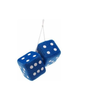 Zone Tech Blue Hanging Dice- A Pair