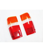 Tail Rear Lamp Light Lens Pair 84-88 Toyota Hilux Pickup Ute Truck Ln50 Rn50
