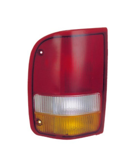 Eagle Eyes FR252-U000L Ford Driver Side Rear Lamp Lens and Housing