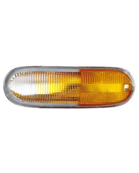 Eagle Eyes VW081-U000R Volkswagan Passenger Side Signal/Marker Lamp LensandHousing