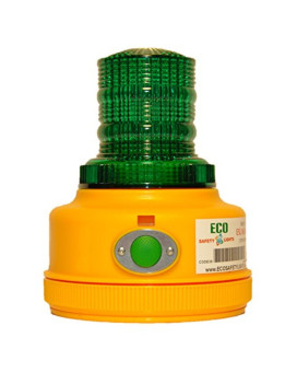 P16LM GREEN Portable 4-Functions Personal Safety Lights 16 LED Warning Safety Beacon Truck Trailer Boat