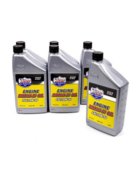 Lucas Oil 10635-6 20W-50 Break-In Oil 6X1 Qt