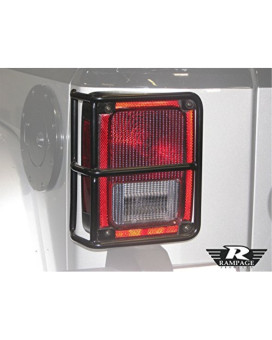 Rampage 88660 Black TailLight Guards