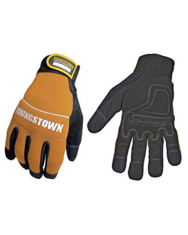 youngstown glove 06-3040-70-xxl tradesman plus performance glove xxlarge, brown