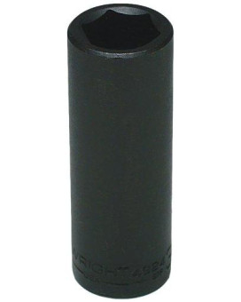 wright tool 4924 3/4-inch - 1/2-inch drive 6-point deep impact socket