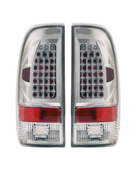 apc 407519tlc ford f-150 diamond cut tail light assembly