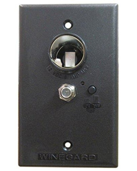 winegard rv-7032 brown wall plate power supply