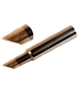 Hakko T18-C4 - T18 Series Soldering Tip for Hakko FX-888/FX-8801 - Bevel - 4 mm/45? x 14.5 mm
