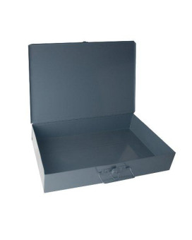 Durham 226-95-IND Gray Cold Rolled Steel Individual Small Empty Metal Shell, 13-3/8 Width x 2 Height x 9-1/4 Depth