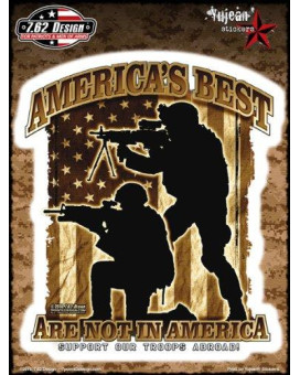 7.62 Design - America's Best Are Not In America - Large Sticker / Decal