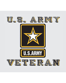 United States Army Veteran Car Decal US Military Gifts Army Products