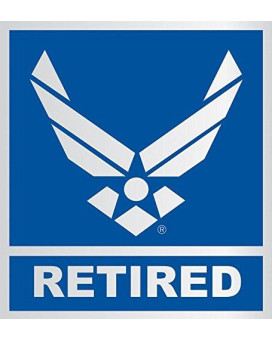 United States Air Force Retired Car Decal US Military Gifts USAF Products