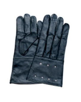 Unisex Adult AL3052 Gauntlet glove studded & unlined XX-Large Black