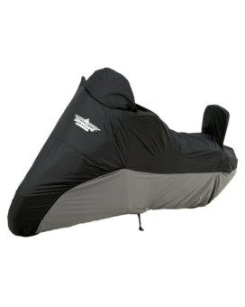 UltraGard 4-459BC Black/Charcoal Cruiser Motorcycle Cover