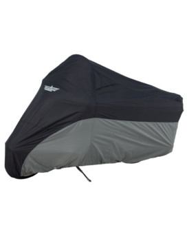 UltraGard 4-472BC Black/Charcoal Dresser Motorcycle Cover
