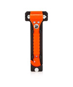 Lifehammer Brand Safety Hammer, the Original Emergency Escape and Rescue Tool with Seatbelt Cutter, Made in the Netherlands, Orange